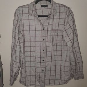 Plaid Madewell flannel